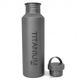 Vargo titanio - Recipientes para bebidas - 650ml con tapa de titanio gris
